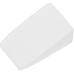 Latex-Free Loose Triangular Makeup Wedge Sponges - White 100 per Bag X 16 Bags = 1600 Wedge Sponges (20141 X 16)