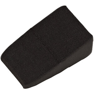 Latex-Free Loose Triangular Makeup Wedge Sponges - Black 100 per Bag X 16 Bags = 1600 Wedge Sponges (20146 X 16)