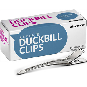 Marianna All Purpose Duckbill Clips 12 Clips Per Box X 36 Boxes = 432 Clips (513632 X 36)