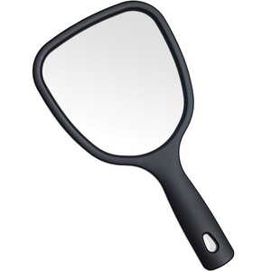 Dual Sided Hand Held Mirror - Matte Black - 1X3X5X Magnification Pack of 14 (513551 X 14)