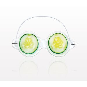 "Cucumber Gel Eye Mask - 7.25"" x 3.75"" Case of 60 Masks (505312 X 60)"