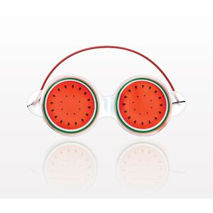 "Watermelon Gel Eye Mask - 7.25"" x 3.75"" Case of 60 Masks (505313 X 60)"