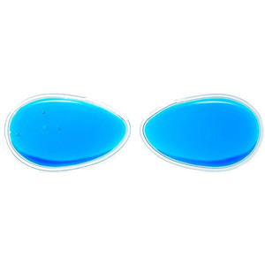 "Oval Gel Eye Patches - Blue - 3.2"" x 2"" Each Case of 100 Pair (505308 X 100)"