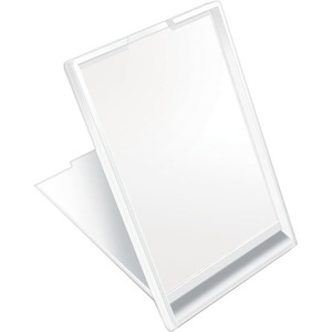 "Self Standing Rectangular Travel Mirrors - White - 2"" x 3.5"" Case of 200 Mirrors (513564 X 4)"