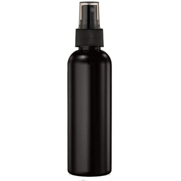 Fine Mist Sprayer Bottle - Black with Smoke Overcap - 5 fl oz. - 150 mL. Case of 90 Individually Wrapped (29527 X 90)