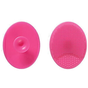 Oval Silicone Facial Cleansing Pad - Hot Pink Case of 75 Individually Wrapped Cleansing Pads (96652 X 75)