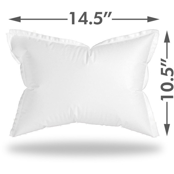"Graham Medical FlexAir Disposable Pillow - Small - 14.5"" x 10.5"" Case of 100 (504704 X 2)"