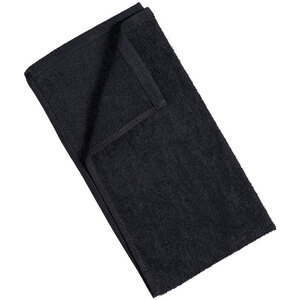 "Partex Bleach Guard Royale Cotton Towels - Black - 16"" x 29"" - 3.3 lbs per Dozen Weight Pack of 36 Towels (73040 X 3)"
