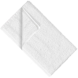 "Partex American Standard Cotton Towel - White - 15"" x 27"" - 2.8 lbs per Dozen Weight Pack of 96 Towels (73034 X 8)"