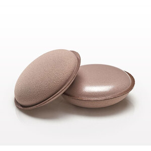 Dual Sided Macaron Blending Sponge - Light Nude Case of 48 Individually Wrapped Sponges (20237 X 48)