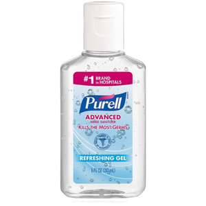 Purell® Advanced Instant Hand Sanitizer Case of 60 - 1 fl oz. Each (93528 X 60)
