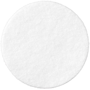 "Round Absorbent Pads - 80% Viscose 20% Polyester - 2.25"" Diameter Case of 2400 (96656 X 2)"