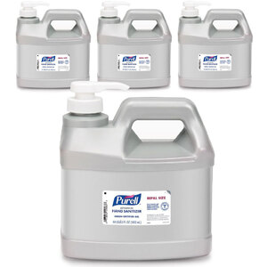 Purell® Advanced Green Certified Gel Hand Sanitizer - Pump Top - Half Gallon Each Case = (4) 12 Gallon Containers (93592 X 1)
