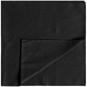 "Partex™ Disposable Towel - BLACK - 16"" X 16"" 50 Per Pack X 5 Packs = 250 Disposable Towels (93105 X 5)"