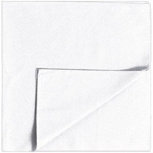 "Partex™ Disposable Towel - WHITE - 16"" X 16"" 50 Per Pack X 5 Packs = 250 Disposable Towels (93106 X 5)"