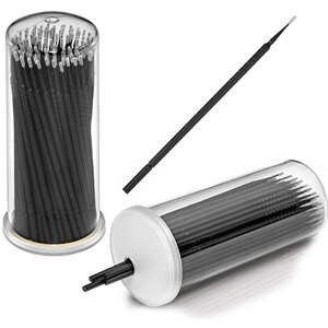 Bendable Precision Fine Tip Applicator Brushes 100 Pieces Per Cylinder X 30 Cylinders = Case of 3000 Applicators (54929 X 30)