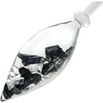 VitaJuwel - Emoto Crystal - Gem Water Gemstone Crystal Infuser Wand - Vision: Noble Shungite + Clear Quartz (01VJMEEDBK)