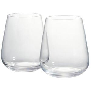 VitaJuwel Gem Water Drinking Glass Set 6 Glasses (02ACTGS)