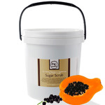 Balinese Papaya & Sauternes With Black Currant - Hand Foot Body Sugar Scrub - Anti-Aging 75 oz. Tub - 2 Pack = 150 oz. by MeBath (BSS412 X 2)