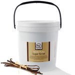 Vanilla Purity - Hand Foot Body Sugar Scrub 75 oz. Tub - 2 Pack = 150 oz. by MeBath (BSS411 X 2)
