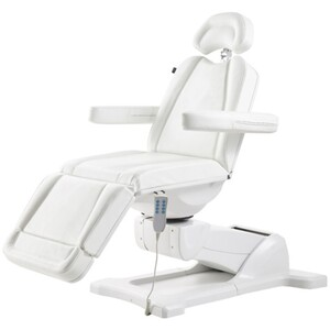 DIR Pavo Facial Beauty BedChair - Full Electrical with 4 Motors White (8709W)