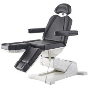 DIR Libra Split Leg Facial Beauty Bed & Chair - Full Electrical with 5 Motors Black (8710BL)