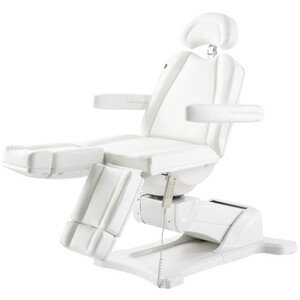 DIR Libra Split Leg Facial Beauty Bed & Chair - Full Electrical with 5 Motors White (8710W)