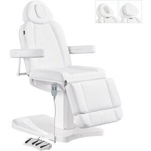 Dir Facial Beauty Bed & Chair Ink with Electrical Hand and Foot Remote Control - Available in White or Black (8103)