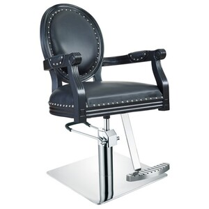 DIR Styling Chair Venture - Available with Round Square or Five-Star Base in Multiple Upholstery Colors (1158)