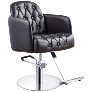 DIR Salon Chair Yume Styling - Available with Round Square or Five-Star Base in Multiple Upholstery Colors (1816)