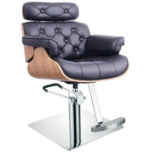 DIR Styling Chair D'Eames - Available with Round Square or Five-Star Base in Multiple Upholstery Colors (1660)