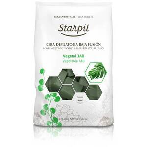 Starpil Green Vegetable - Stripless Hard Wax from Spain 1 Kg. (2.2 Lbs.) Bag of Blocks X 4 Bags = 4 Kg. (8.8 Lbs.) Case (1522002 X 4)