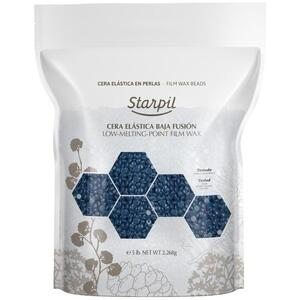 Starpil Blue Film Wax Beads - Stripless Hard Wax from Spain 80 oz Bag X 2 = 10 Lbs. 4.54 Kilograms Case (1522900 X 2)