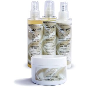 Starpil StarSoft - PrePost Lotion Bundle WITH Acid Cream from Spain (STARSOFT-PREPSTBUNDLE+ACID X 1)