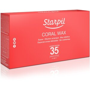 Starpil Coral Wax Tablets with Mediterranean Coral Calcium Powder - Stripless Hard Wax from Spain 2 Lb. Bag of Tablets X 2 Bags = 4 Lb. Case (CORAL-TABLETS-2LBS X 2)