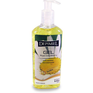 Depimiel - Post-Depilatory Gel with Menthol and Chamomile 8.45 oz. - 240 Grams Each Case of 24 Bottles ()