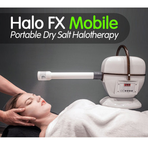 Halo FX Mobile™ - The Portable Dry Salt Halotherapy Solution! (HALO FX MOBILE)