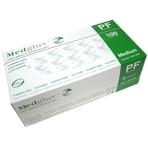 Medgluv Latex Exam Gloves Powder-Free - Textured