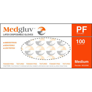 Medgluv Latex Disposable Glove Powder-Free