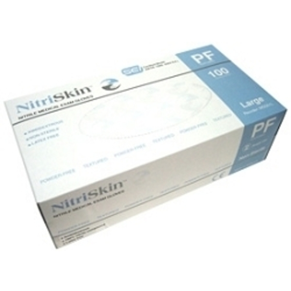 NitriSkin Nitrile Medical Exam Gloves Powder-Free