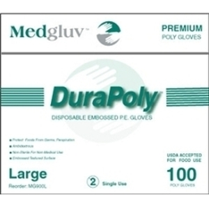 DuraPoly (PE) Poly Disposable Gloves