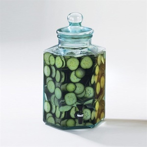 2 Gallon Glass Octagon Infusion Jar (1745)