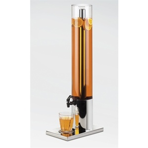 Stainless Steel Beverage Dispenser With Ice Chamber - 1.5 Gallon (1494)