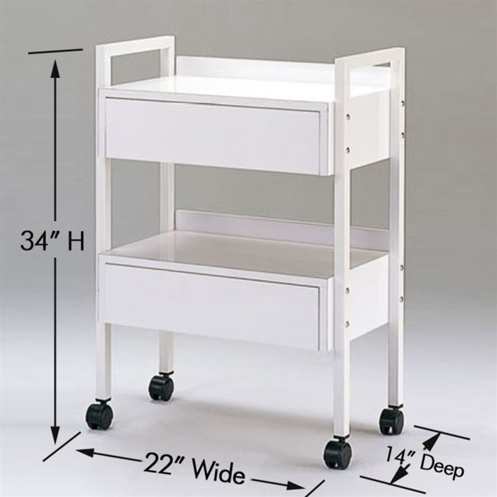 Tanis Esthetician Trolley With Drawers Ak 3