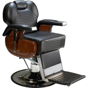 The Victor Wood-Grain Hydraulic Barber Chair (AS-3607W)