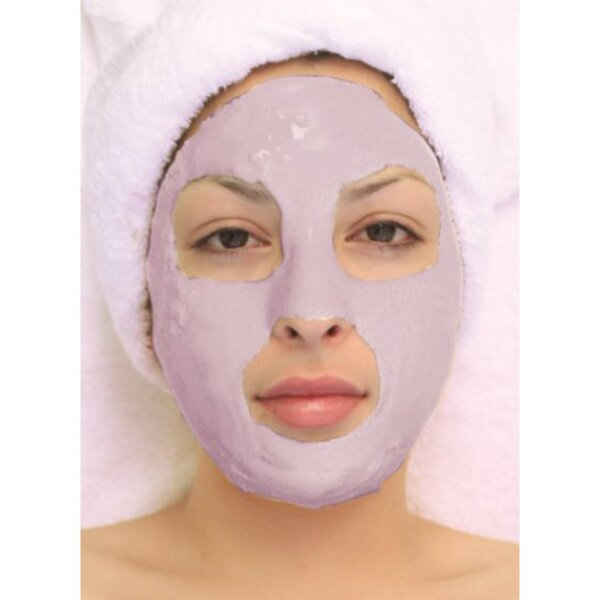 Algae Peel-Off Mask - Cranberry Aha Mask 4.4 Lbs. (2 Kilograms) Bulk Pack (LV3093 X 2)