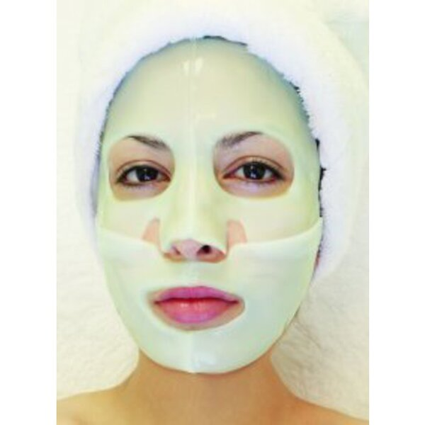 Hydrophylic Gel Collagen Mask - Avocado Collagen Mask Pack of 15 - Each is Single Use (MC4573 X 15)