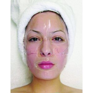 Hydrophylic Gel Collagen Mask - Raspberry Collagen Mask Pack of 15 - Each is Single Use (MC4574 X 15)