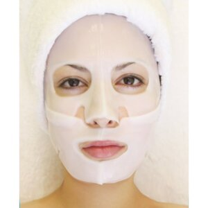 Hydrophylic Gel Collagen Mask - Arbutin Whitening Collagen Mask Pack of 15 - Each is Single Use (MC4575 X 15)