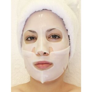 Hydrophylic Gel Collagen Mask - Honey & Milk Collagen Mask Pack of 15 - Each is Single Use (MC4553 X 15)